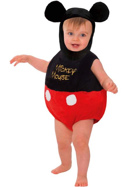 Disfraz de Mickey Mouse con volumen para bebé