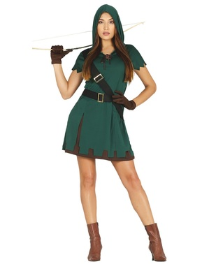 Disfarce Robin Hood para mulher