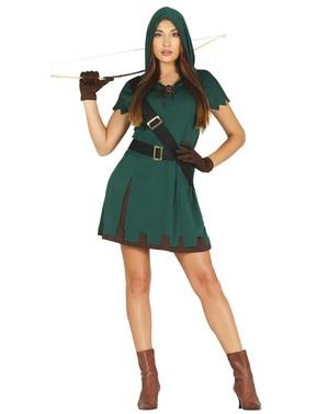 Robin Hood Maskeraddräkt för henne