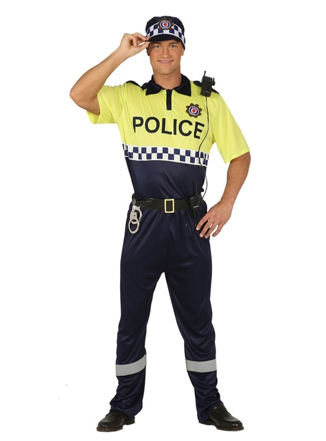 Traffic Police costume for adults