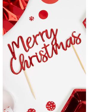 חג שמח כיסויי באדום - Red המולד