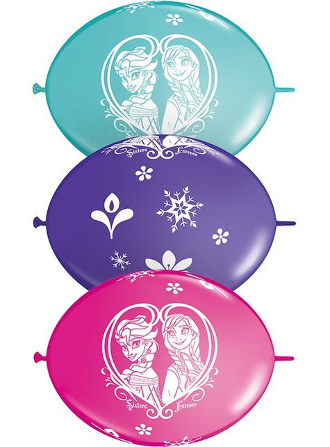 10 globos de Frozen 2 para guirnalda (30 cm) - Disney
