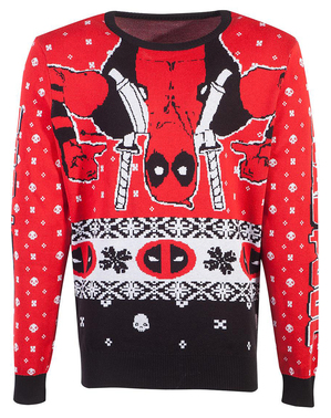 Pull de noël Deadpool adulte unisexe- Marvel