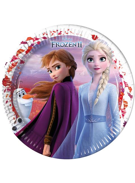 8 platos Frozen 2 (23 cm)