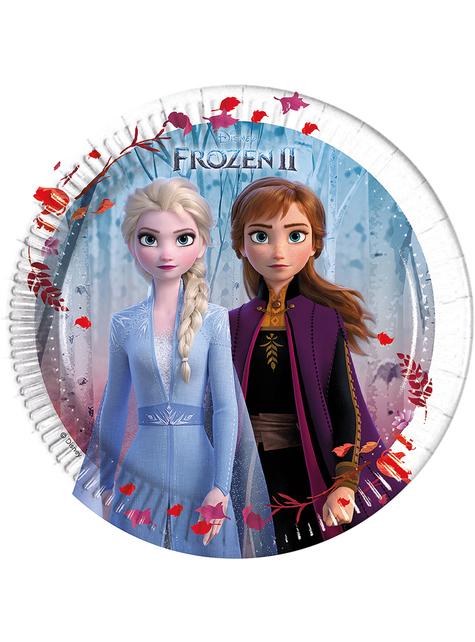 8 platos Frozen 2 (20 cm)