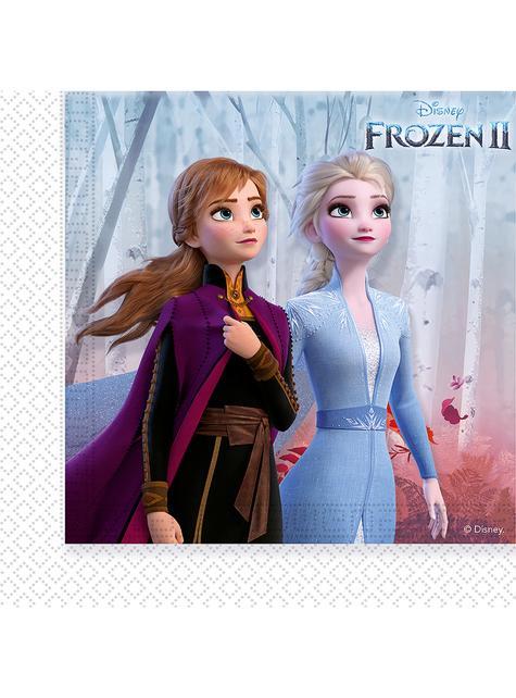 20 servilletas Frozen 2 (33 cm)