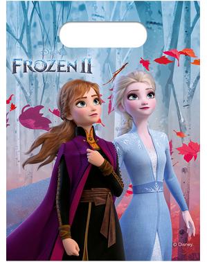 6 sachets à bonbons La Reine des neiges 2