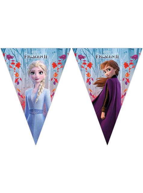 Guirnalda de banderines Frozen 2