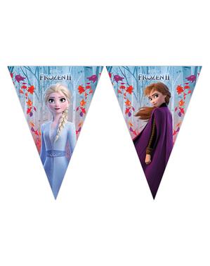Ghirlandă de stegulețe Regatul de gheață 2 (Frozen)