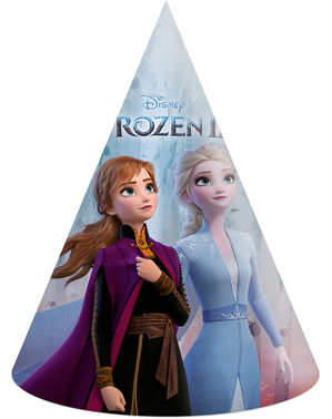 6 chapelinhos de Frozen 2