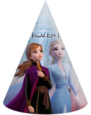 アナと雪の女王2パーティー帽子6つ