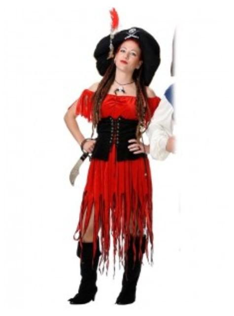 Kostium kobieta korsarz