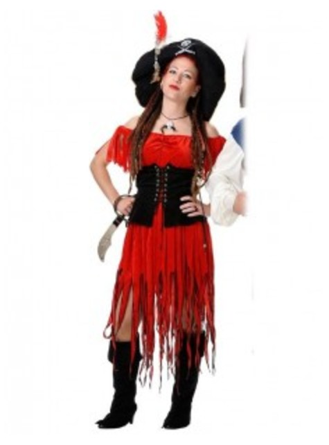 Womens Buccaneer Costume