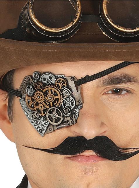 Steampunková páska přes oko pro dospělé