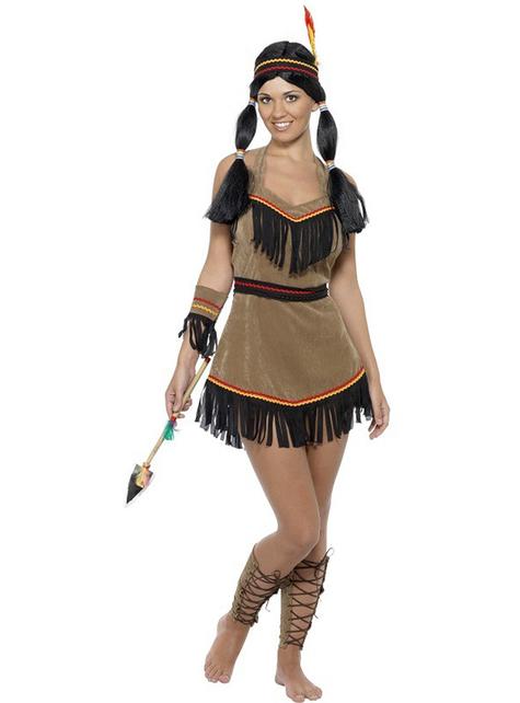 Dámsky kostým sexy indiánka