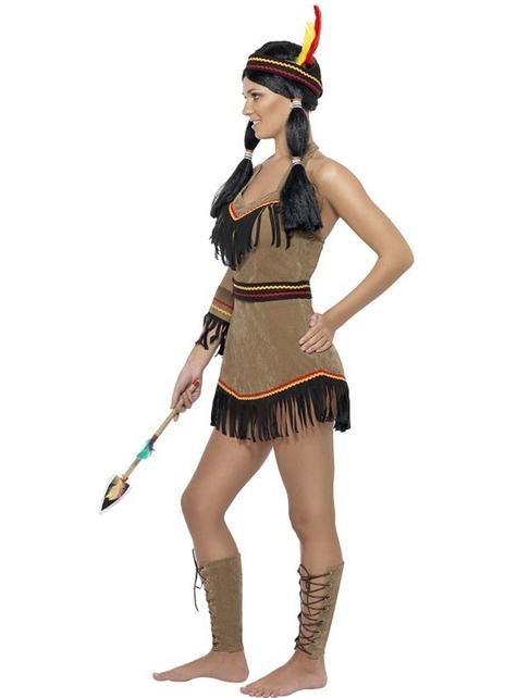 Disfraz de india mujer