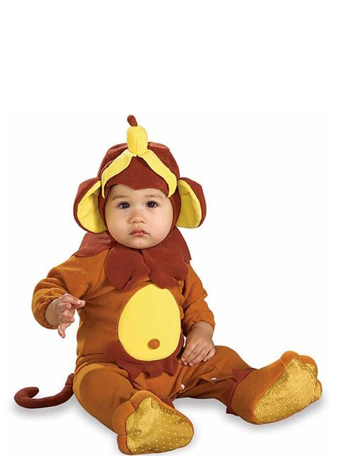 Fato de macaco bebé