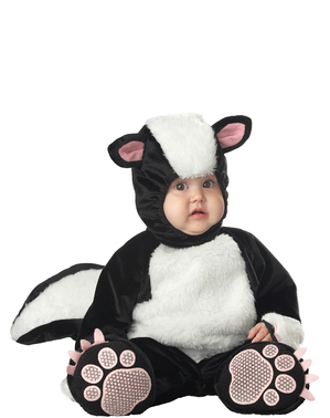 Kostým pro nejmenší roztomilý skunk