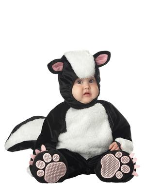 Sødt stinkdyr kostume til babyer