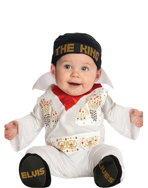 Costume Elvis bebè
