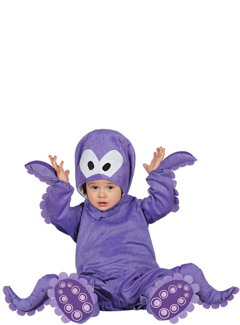 Baby's Adorable Octopus Costume