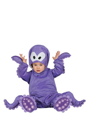 Nusselig Blekksprut Kostyme Baby