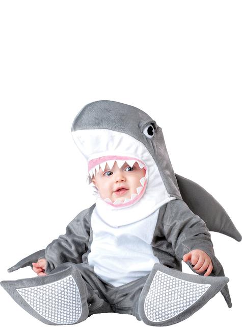 Costum de rechin pentru bebeluși
