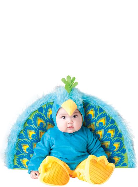 Schattig pauw kostuum voor baby's