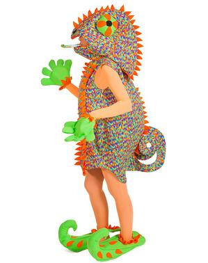 Disfraz de camaleón para mujer