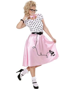 Pige fra 50'erne kostume