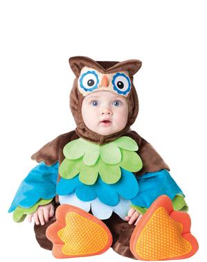 Maskeraddräkt uggla för bebis