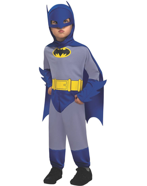 Batman The Brave and The Bold kostuum voor baby