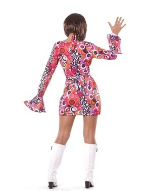 Disco girl kostuum