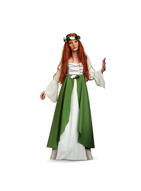 Dámsky kostým stredovekej princeznej