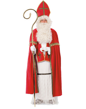 Deluxe Sain Nicholas costume for men