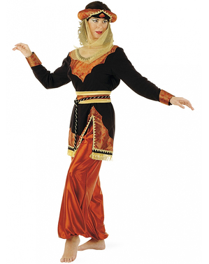 Arabisk Prinsesse Kostume