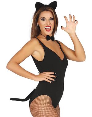 Sexy kat set voor vrouw