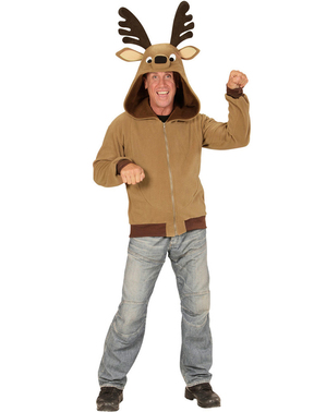 Sweater met grappig rendier voor volwassenen