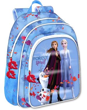 アナと雪の女王2青いリュックサック