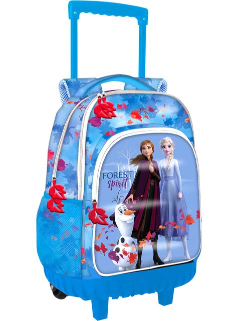 Niebieski plecak na kółkach Kraina Lodu 2
