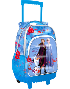 Frozen 2 trolley in blauw