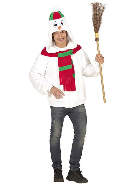 Varm Snømann plus size Jakke til Voksen