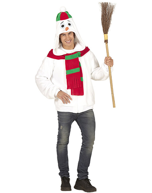 Adult's Plus Size Warm Snowman Jacket