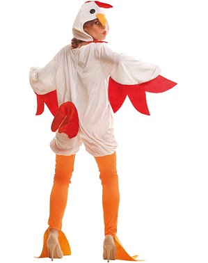Kip kostuum voor vrouw