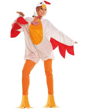 Costume da gallina coccodè per donna