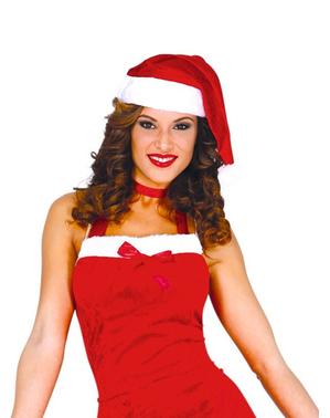Fato de Mãe Natal atrevida para mulher