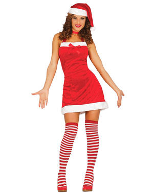 Womens Risqué Mother Christmas Costume