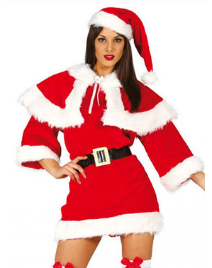 Womens Mother Christmas Deluxe Costume