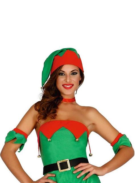 Fato de elfo sexy para mulher