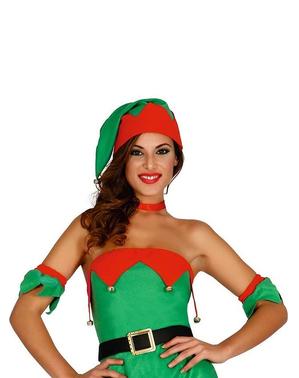 Disfraz de elfa navideña sexy